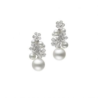 Mikimoto Bloom Collection Earrings