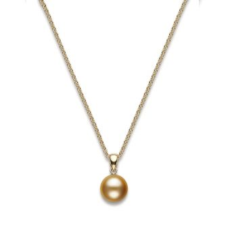 Golden South Sea pendant